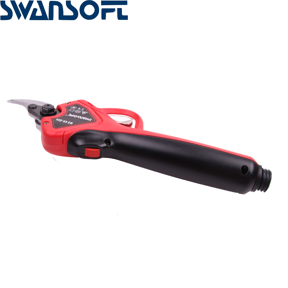 Tools : SWANSOFT Cordless Pruner Lithium-ion Pruning Shear Efficient Fruit Tree Bonsai Pruning Electric Tree Branches Cutter Landscaping