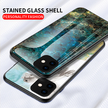 Marble Glass Case for Iphone 7