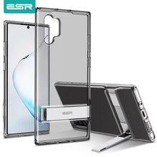 ESR מתכת Kickstand מקרה עבור סמסונג גלקסי הערה 10 S10 בתוספת כיסוי עמיד הלם TPU עסקים טלפון מקרה עבור סמסונג הערה 10 בתוספת
