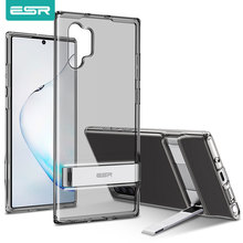 ESR Metal Kickstand Case for Samsung Galaxy Note 10 S10 Plus Cover Shockproof TPU Business Phone Case for Samsung Note 10 Plus
