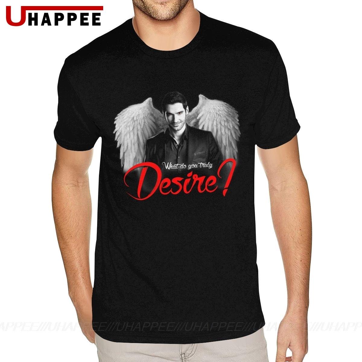 Oversized Lucifer Morningstar Tshirt Mens Grunge Fashion Short Sleeves O Neck Man T Shirt Summer Cheap Discount Merch Apparel