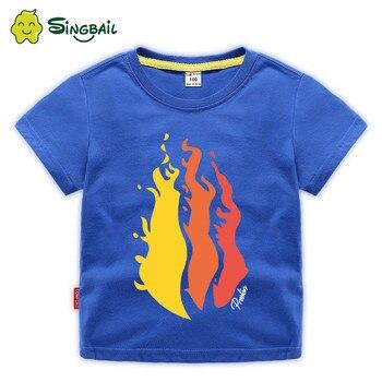 Kids 3D Prestonplayz Flame Chad Wild Clay Short Sleeve T-shirt Tee Top HOT