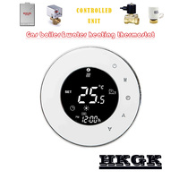 3A boiler thermostat for floor heating ,Multifunction Passive connection,Water valve,Electric actuator