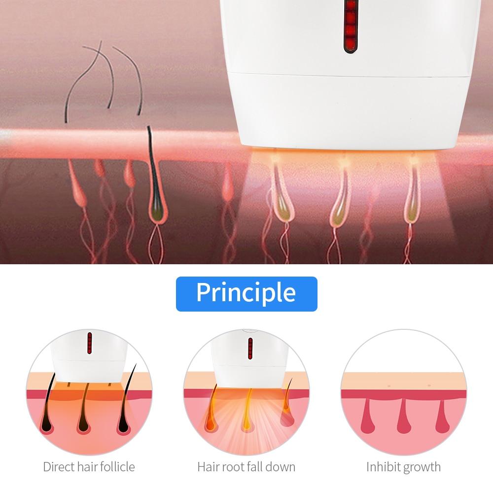 permanente indolor removedor de cabelo