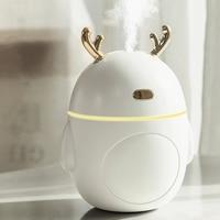 Schöne Deer Luftbefeuchter USB Ultraschall Kühlen Nebel Maker Fogger LED Licht Mini Aroma Diffuser Ätherisches Öl Humificador