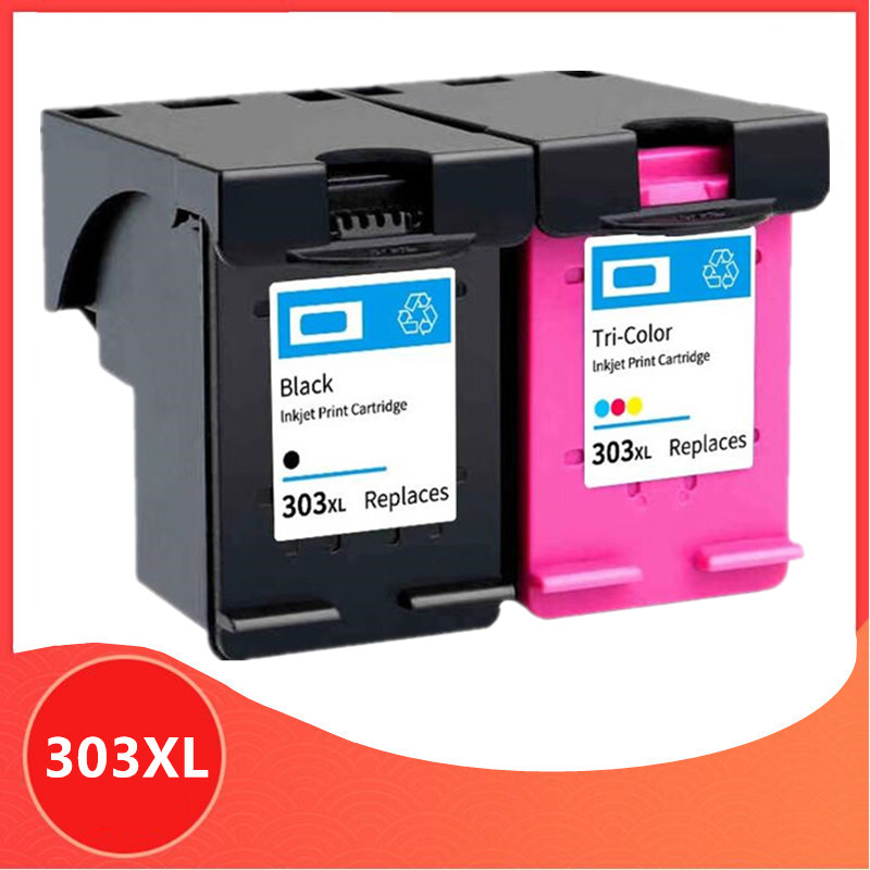 303XL Kompatibel Tinta untuk HP 303 Penggantian untuk HP 303XL Iri Foto 6220 6230 6232 6234 7130 7134 7830 Printer