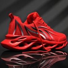Nouvelle mode maille hommes baskets respirant hommes chaussures décontracté léger chaussures de sport augmenter chaussures de course Zapatillas Hombre