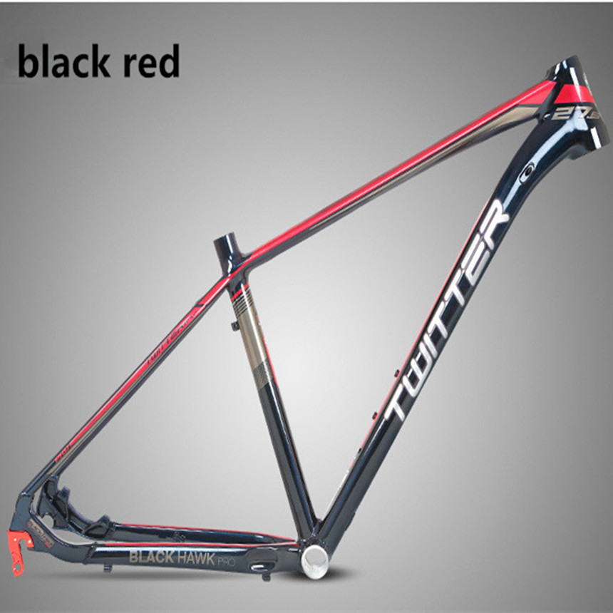 MTB Mountain Bike XC Off-road Bicycle Twitter Pro Aluminum Alloy Grade Magic Color Standard Paint Frame