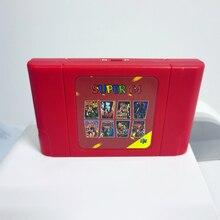 New DIY Siêu 64 Retro Thẻ Game 340 In 1 Trò Chơi Dùng Cho N64 Video Máy Chơi Game Với 16G quà Tặng