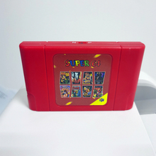 New DIY Super 64 Retro Game Card 340 in 1 Game Cartridge for N64 Video Game Console with 16G Gift