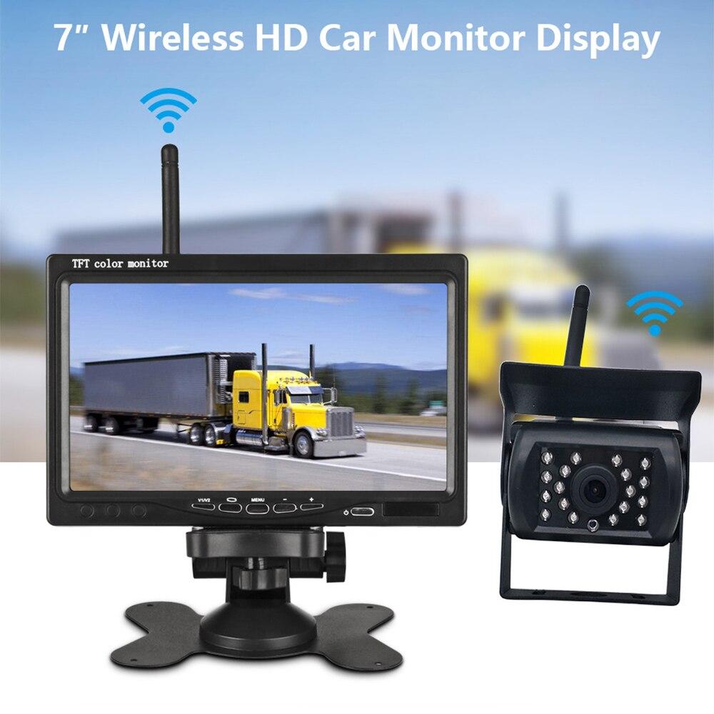 Car Rear View Camera Reversing Parking System Kit 7