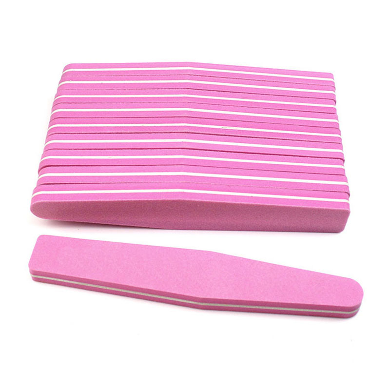 Pedicure Nail-Files Buffers Lime Professional Double-Side 100/180-Nail 1/3pcs