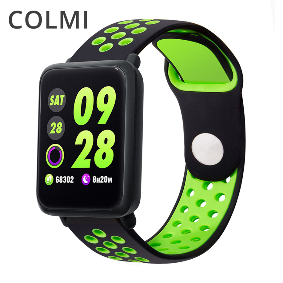 COLMI M28 Smart Watch Men Blood Pressure IP68 Waterproof Fitness Tracker Clock Smartwatch For IOS Android Wearable Devices