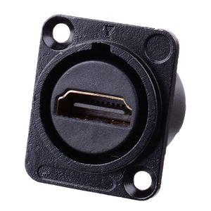 Image 1 - HDMI Loại D Ổ Cắm Mạng Cắm Khung Xe Bảng Điều Khiển Gắn Kết Nối Âm Thanh Kim Loại HD Hàng Không Dây Cáp