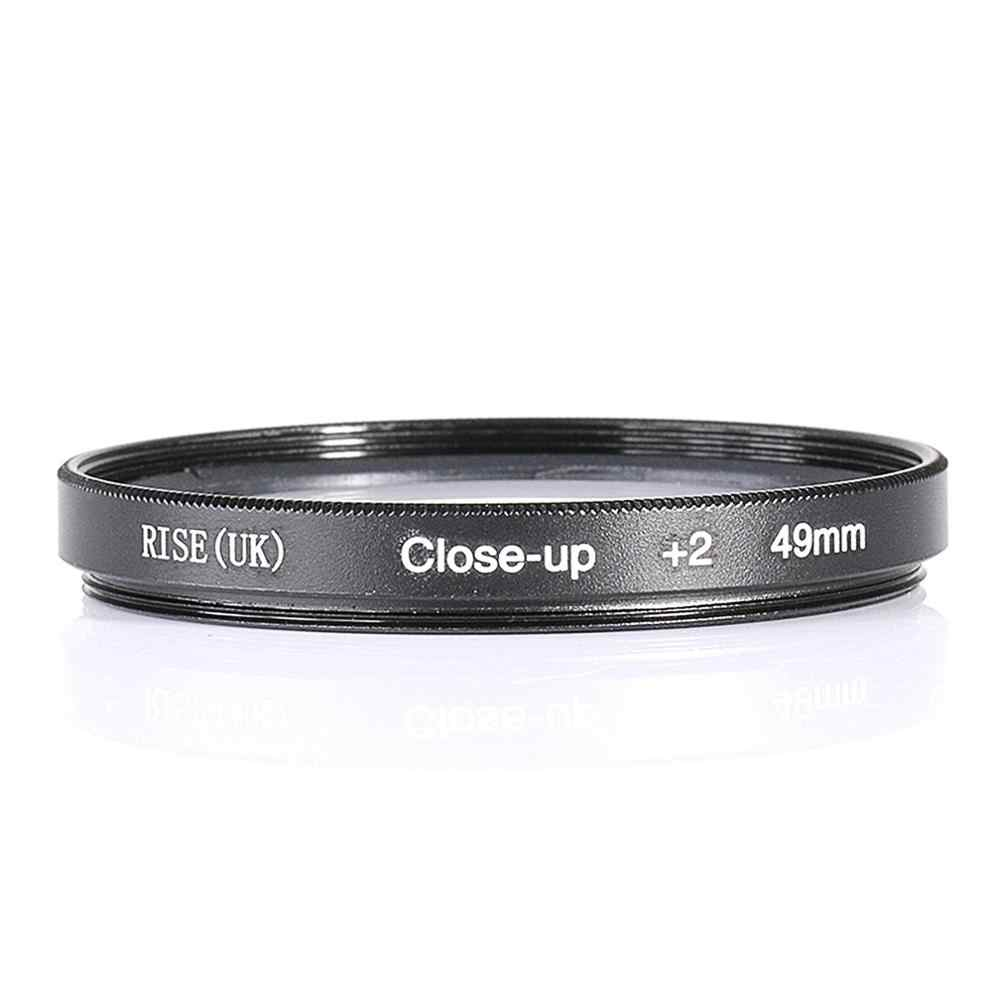 Naik (UK) Filter Kamera 37/40. 5/43/46/49/52/55/58/62/67/72/ 77/82 Mm Close-Up + 1 + 2 + 4 + 10 Makro Filter Lensa untuk Nikon kamera Canon