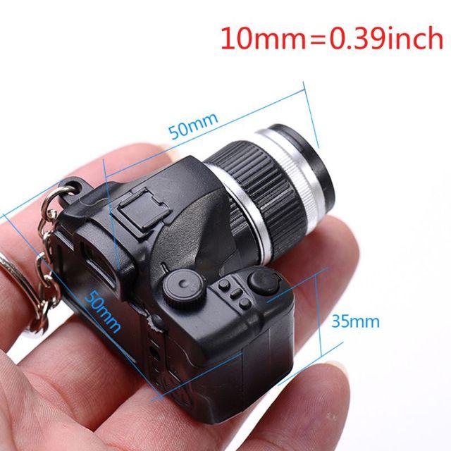 Créatif Super Mini caméra porte-clé LED 4