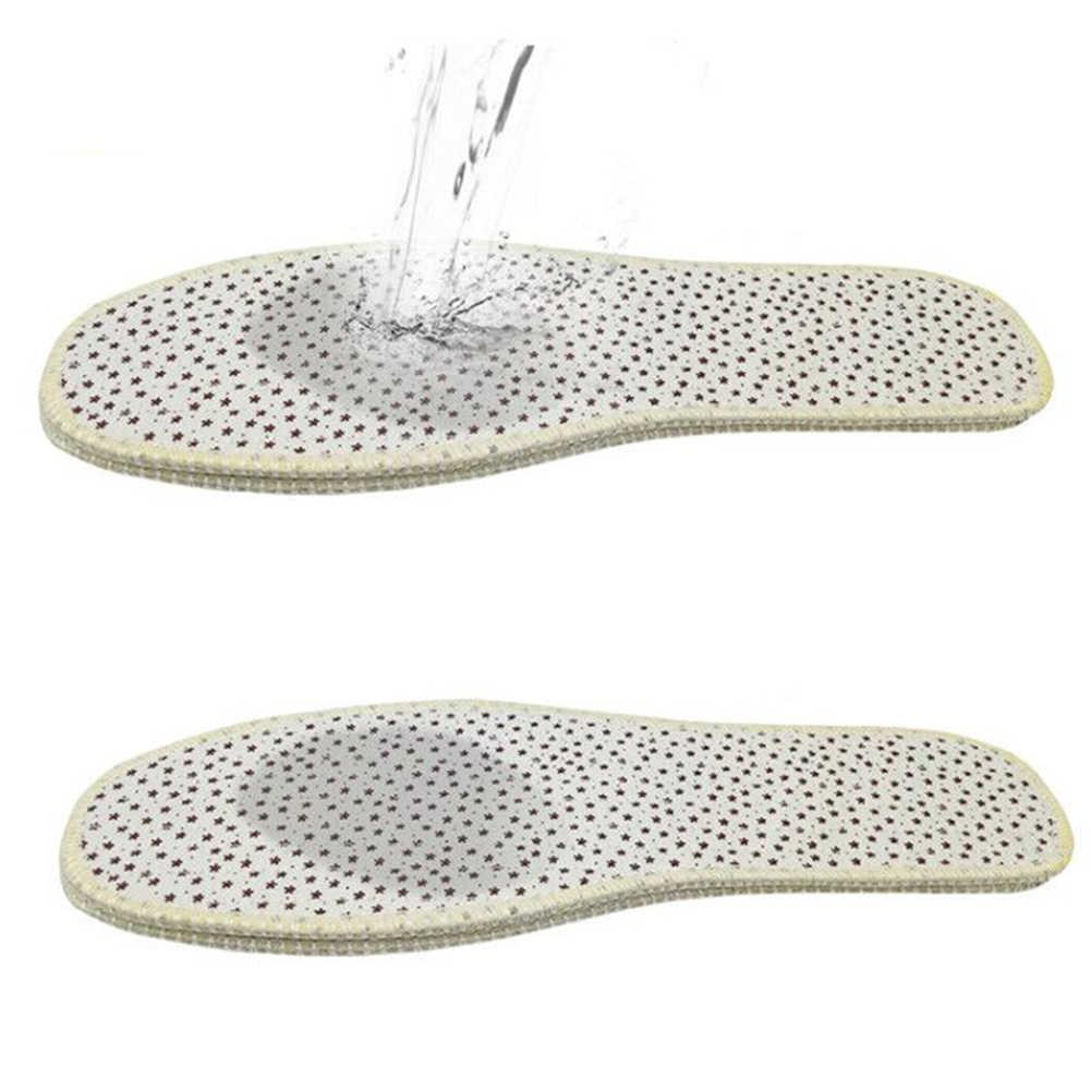 1 คู่ Deodorization Insole Unisex สบาย Breathable ผ้าพื้นรองเท้า Full Pad ใส่รองเท้า