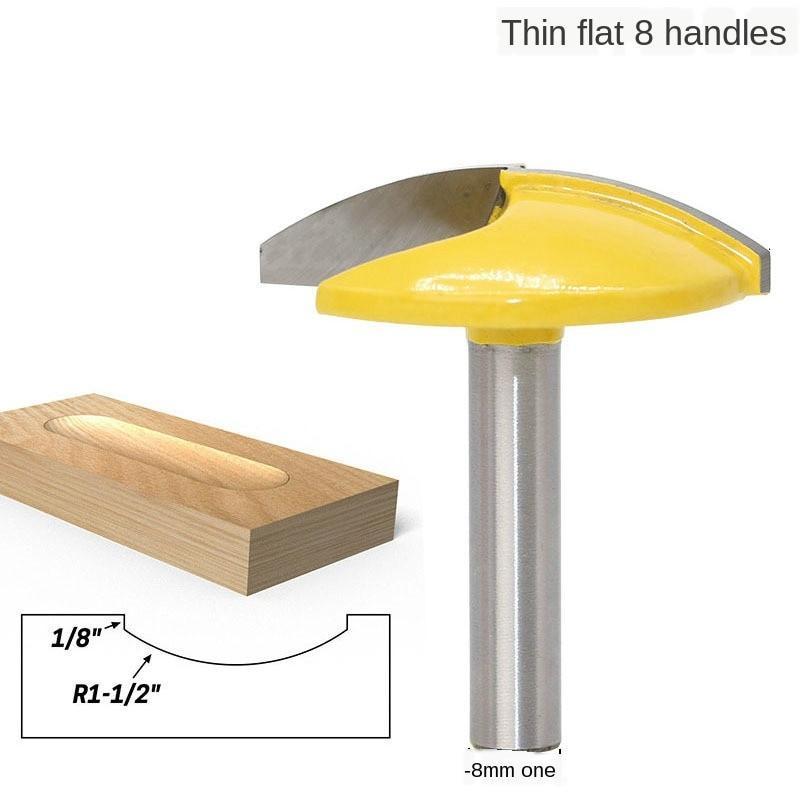 """1 pc 8mm shank bacia pequena clássica mergulhar madeira roteador bit carboneto de tungstênio 1.65 """"raio-1-3/4"""" ferramentas de madeira larga"""