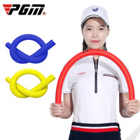 PGM New Golf Multifunction Power Bar Blue/Red Swing Trainer Soft Stick Train Godpower Whip Anytime Anywhere High Density Foam