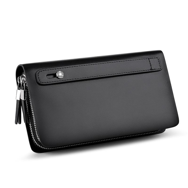 WILLIAMPOLO Men Wallet Genuine Leather Purse Fashion Casual Lonog Business Male Clutch Wallets Men's Handbags PL239 - 3