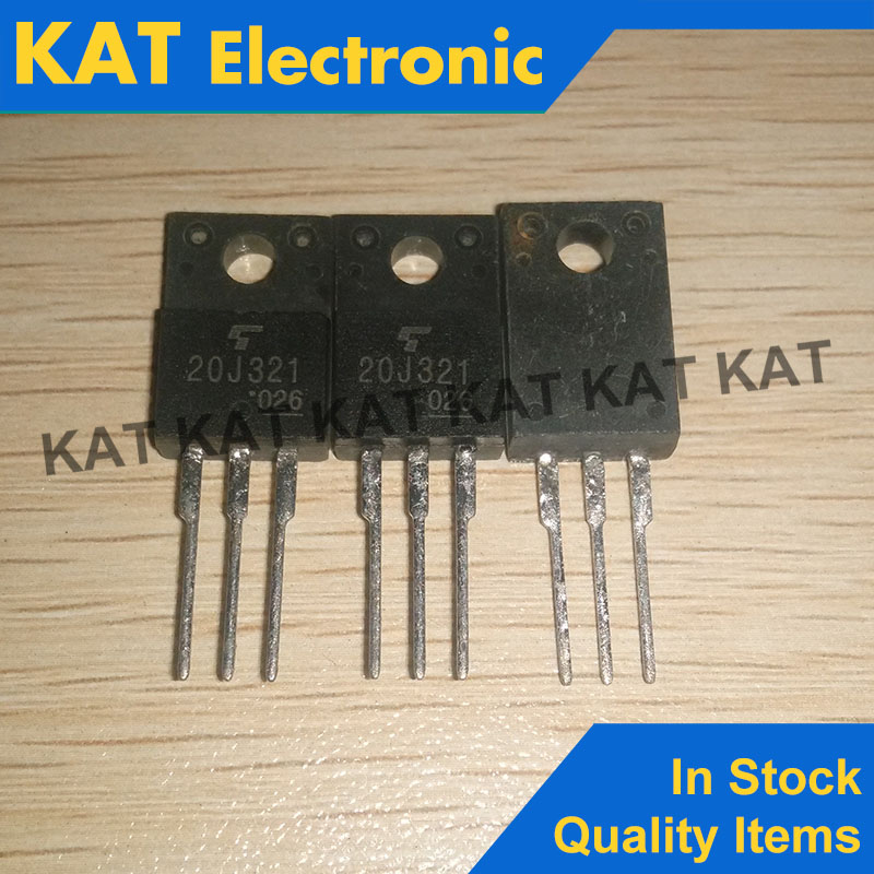 5PCS/Lot 20J321 GT20J321 600V 20A TO-220F Insulated Gate Bipolar Transistor   Silicon N Channel IGBT
