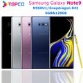 Разблокированный телефон Samsung Galaxy Note9 Note 9 N960U1, 128 ГБ, экран 6,4 дюйма, Восьмиядерный процессор Snapdragon 845, двойная камера 12 МП, ОЗУ 6 ГБ, NFC