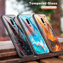 Luxury for Meizu M9 Note M5 M6 M8 Frame Bumper for Meizu 16s 16th Plus 16X M6T M882Q M892Q Tempered Glass Cases Protection Shell cheap WISAPI Marble Anti-knock Soft TPU Edge + Back Hard Glass Colorful Painted Drawing Cases High Quality Materials Durable