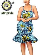 Платья в африканском стиле для женщин сексуальное летнее Повседневное