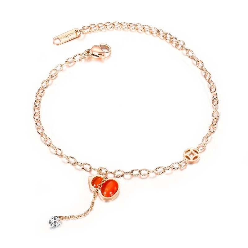 Bohemian Pendant Anklets For Women Summer Beach Anklet Jewelry Fashion Ladies Anklets Foot Leg Rose Gold Jewelry