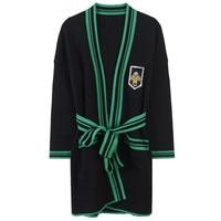 Sequins Beading Cardigan Femme Spring Shrug Overcoat Womens Cardigan Sashes Striped Knit Coat Belt Top Outwear