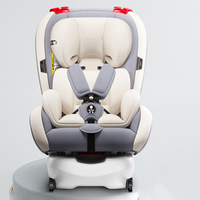 Car General Purpose Baby Safety Seat Support Isofix and Latch Interface 0 12y Portable Safety Seat for Kid Adjustable 165 Degree
