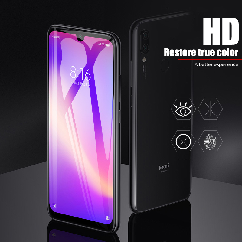 Image 4 - 9D Tempered Glass For Xiaomi Redmi note 5 6 7 Pro Screen Protector On The Redmi 6A 6 Pro Glass Protective Glass On Redmi Note 7-in Phone Screen Protectors from Cellphones & Telecommunications