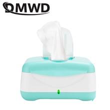 DMWD детские салфетки нагреватель термостат салфетки машина нагревательная коробка для детских салфеток теплоизоляция увлажнитель