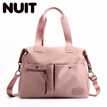 Female Nylon Single Shoulder Bags Women Large Capacity Shopping Bag Purses And Handbags Ladies Handbag Casual Tote Bags danny bear fashion designers women handbags vintage ladies tote handbag portable female shoulder bags large black shopping bag