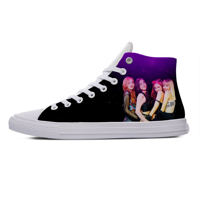 BLACKPINK THEMED HIGH TOP SHOES (5 VARIAN)