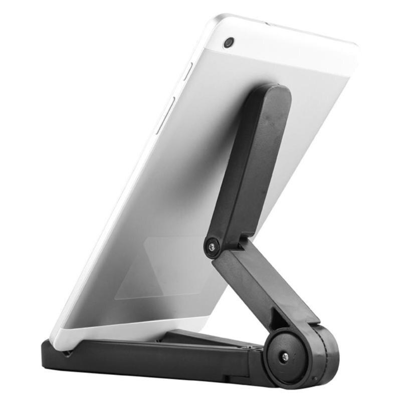 Bilgisayar ve Ofis'ten Tablet Standları'de Katlanabilir Tablet braketi Tablet standı Tablet bilgisayar braketi Stent masa desteği iPad hava iPad Mini 4 3 2 iPhone nexus Kindle title=