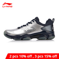 Li Ning Men SONIC BOOM Badminton Shoes Wearable Anti Slippery LiNing li ning Breathable Sport Shoes Sneakers AYZN009 XYY072