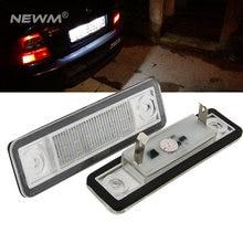 2x carro conduziu luzes da placa de licença 12v branco número da lâmpada da placa para opel corsa b astra f g omega zafira signum vectra b