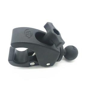 Image 4 - Heavy Duty  Tough Claw Calmp Mount with 1 inch Diameter Rubber Ball for RAM MOUNTS for cell phone for gopro motorcycle