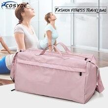 Fashion Big Sport Training Gym Bag Outdoor Sport Training Gym Bag Waterproof Women Fitness Bag For Shoe Travel Yoga Handbag Men