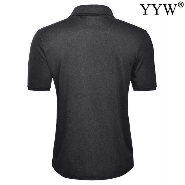 2020 New Summer Golf apparel Men's Golf T-Shirt T Comfortable Breathable Golf Short Sleeve T-Shirt 3