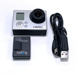 100%Original Camera For GoPro HERO3 Hero 3 White Edition Adventure Camera+Battery+ charging data cable 95%new