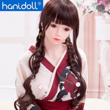 Hanidoll Silicone Sex Dolls 148cm Japanese Love Doll Metal Skeleton TPE Full Sized Realistic Vagina Breast Masturbator doll
