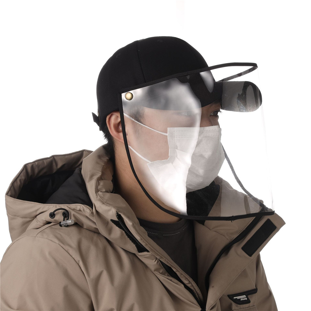 Anti-Dust And Anti-Fog Hat Adjustable Coronavirus Mask Anti-spitting Protective Hat Dustproof Cover Masque Anti Pollution D30 1