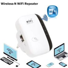Drahtlose Wifi Repeater WiFi Booster 2,4G Wi-Fi Signal Verstärker 300Mbps Wi Fi Ultraboost Access Point Wifi Range Extender router(China)