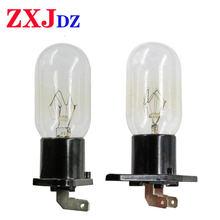 1 шт лампа для микроволнового холодильника 240 в 25 Вт с держателем