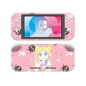 Image 2 - Anime Sailor Moon NintendoSwitch Skin Sticker Decal Cover For Nintendo Switch Lite Protector Nintend Switch Lite Skin Sticker