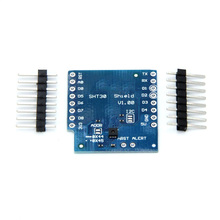 цена на 10pcs SHT30 Shield for D1 mini SHT30 I2C digital temperature and humidity sensor module