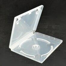 10 個の cd DVD ディスクプラスチックケース容量ディスク CD 収納ボックス PS3