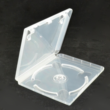 10 pces cd disco dvd caixa de armazenamento de disco de capacidade de plástico para ps3